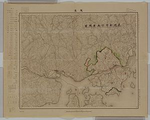 Mihara, Hiroshima - A map of suburb of Mihara and Onomichi area in 1929 (Japanese edition)