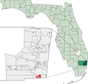Map of Florida highlighting Pembroke Park.png