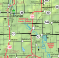 Map of Neosho Co, Ks, USA.png