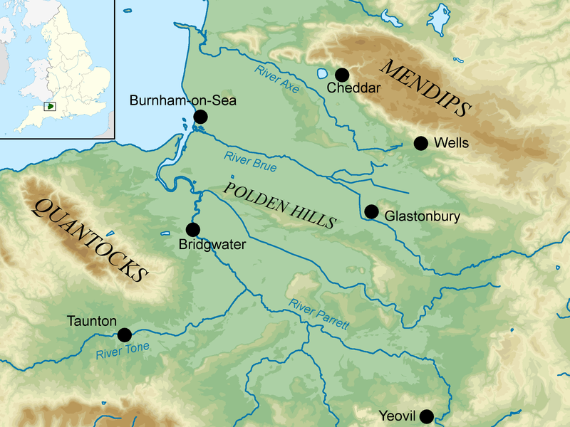 File:Map of Somerset Levels.png