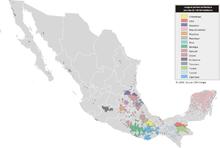 Mapa de lenguas de México + 100 000fr.png