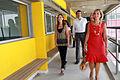 María Eugenia Vidal y Esteban Bullrich recorrieron obras de infraestructura en escuelas de La Boca (6837091957).jpg