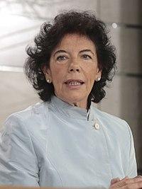 María Isabel Celaá en su primera comparecencia como portavoz del Gobierno.jpg
