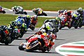 Marc Márquez leads the pack 2015 Mugello.jpeg