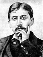 Marcel Proust photographié.