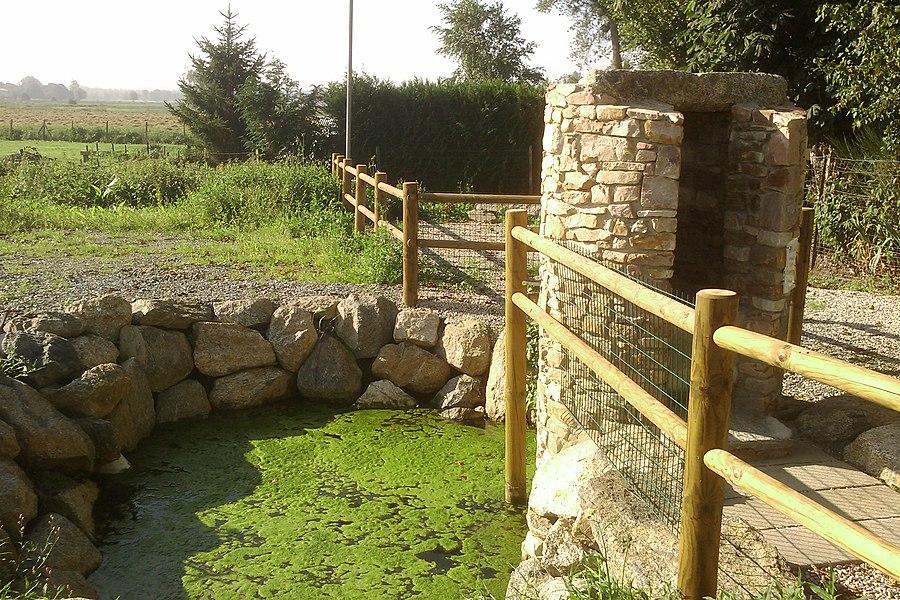 Fontaine miraculeuse dont les eaux sont réputées capable de guérir des fièvres.