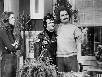 Gabe Kaplan - Kaplan in a scene from Welcome Back Kotter, with Marcia Strassman and Ron Palillo