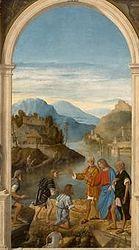 Marco Basaiti: Calling of the sons of Zebedee