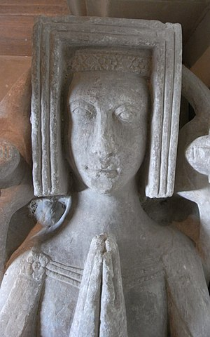 Margaret de Bohun, Countess of Devon - Image: Margaret De Bohun Powderham