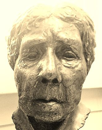 Witch-cult hypothesis - Bust of Murray held in the library of the UCL Institute of Archaeology.