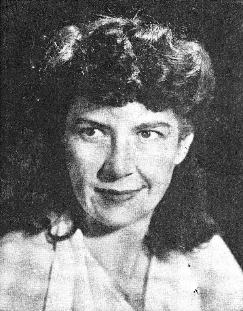 Margaret St Clair FA 194611
