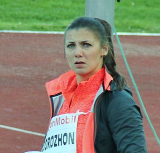 Marharyta Dorozhon Olympic javelin thrower