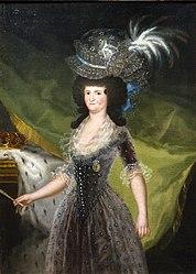 Francisco Goya: María Luisa de Parma, reina de España