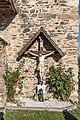Maria Saal Karnburg Pfalzstrasse Pfarrkirche Annenkapelle Kruzifix 02102018 4873.jpg
