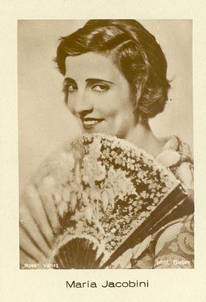 Maria Jacobini - Image: Maria jacobini