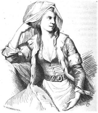 Marie Cathrine Preisler - Image: Marie Cathrine Preisler som sultaninde