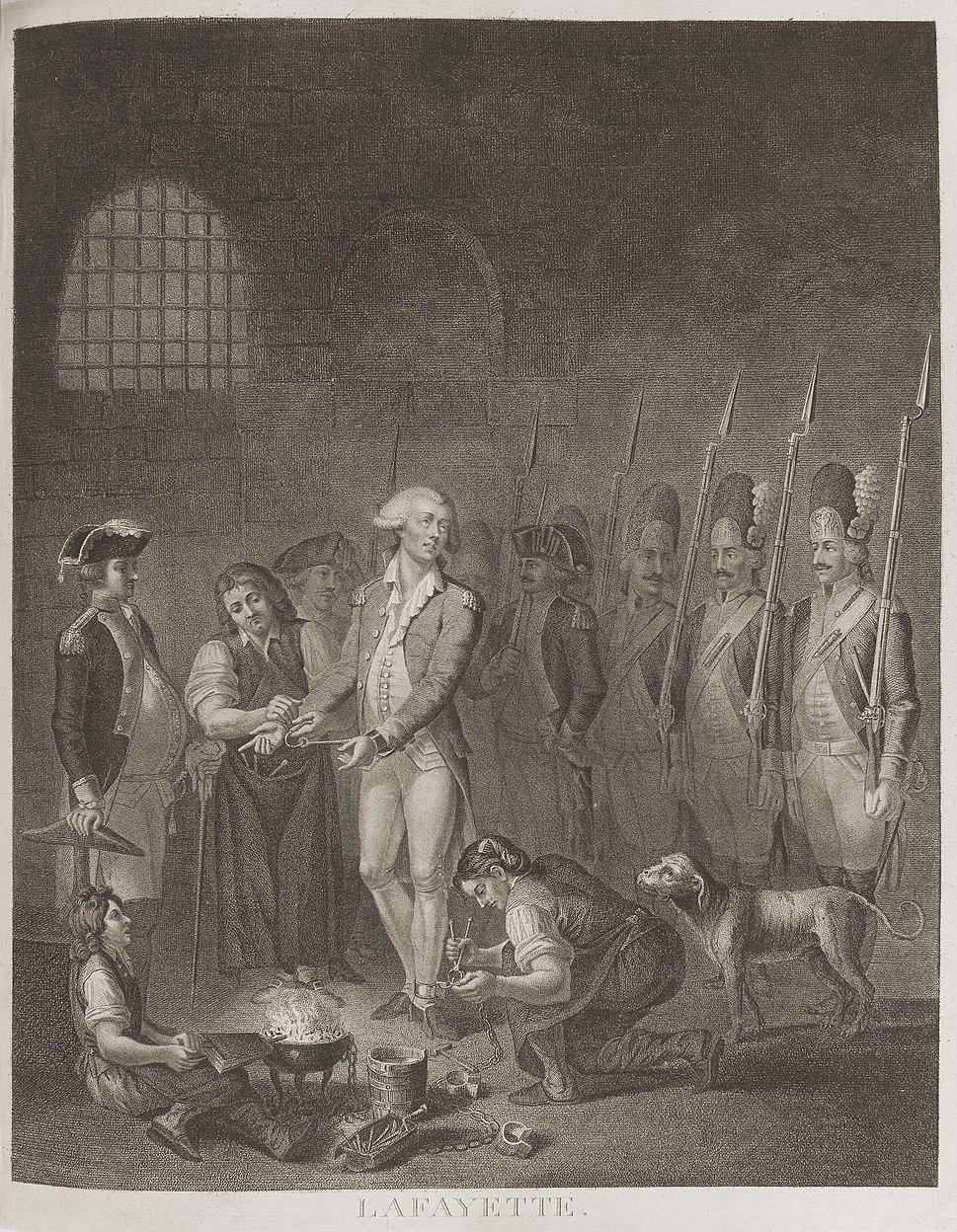 Marie Joseph Paul Yves Roch Gilbert du Motier, Marquis de Lafayette from NPG