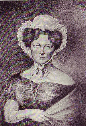 Carl von Clausewitz - Marie von Clausewitz (née, Countess von Brühl)
