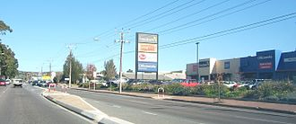 Marion, South Australia - Retail outlets on Marion Road