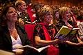 Marja van Bijsterveldt, Prinses Laurentien en Margreet de Vries nieuwe Luxor theater.jpg