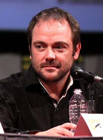 Day of the Moon - The opening scene was based on guest actor Mark Sheppard's history of being villains in American television roles.