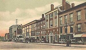 Portsmouth Athenæum - Market Square c. 1905