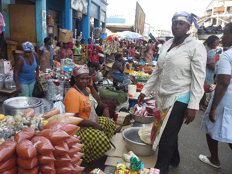 File:Market Women in Ghana.jpeg