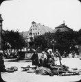 Marknad vid Luna-Brunnen i Lüneburg - TEK - TEKA0116970.tif