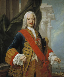 The Marquis of Ensenada was Minister for America and responsible for many policies, one of which resulted in the first modern census in the city in 1778. Marquis de Ensenada.jpg