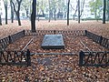 Mass Grave of Fighters for the Soviet Power, Petrovskyi Park, Poltava (2018-10-30) 02.jpg