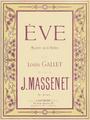 Massenet - Ève - title page of the piano score - Paris 1875.png