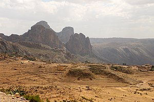 Southern Region (Eritrea) - Mountains around Senafe
