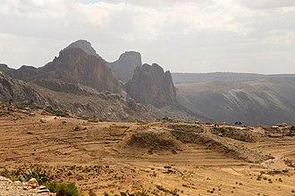 Southern Region (Eritrea) - Mountains around Senafe