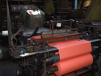 Factory Acts - A Victorian power loom (Lancashire loom)
