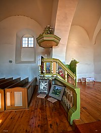 Matīšu luterāņu baznīca, kancele 1.jpg