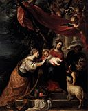 Mateo Cerezo d. J. - The Mystic Marriage of St Catherine - WGA04655.jpg