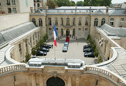 Official reception at Hotel Matignon. Matignon gala.jpg