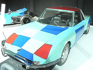Matra 530 - M530A painted by Sonia Delaunay
