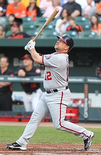 Matt Stairs - Stairs with the Washington Nationals in 2011