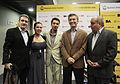 Mauricio Macri saludó a la pareja ganadora del Mundial de Tango especialidad Escenario (7945867180).jpg