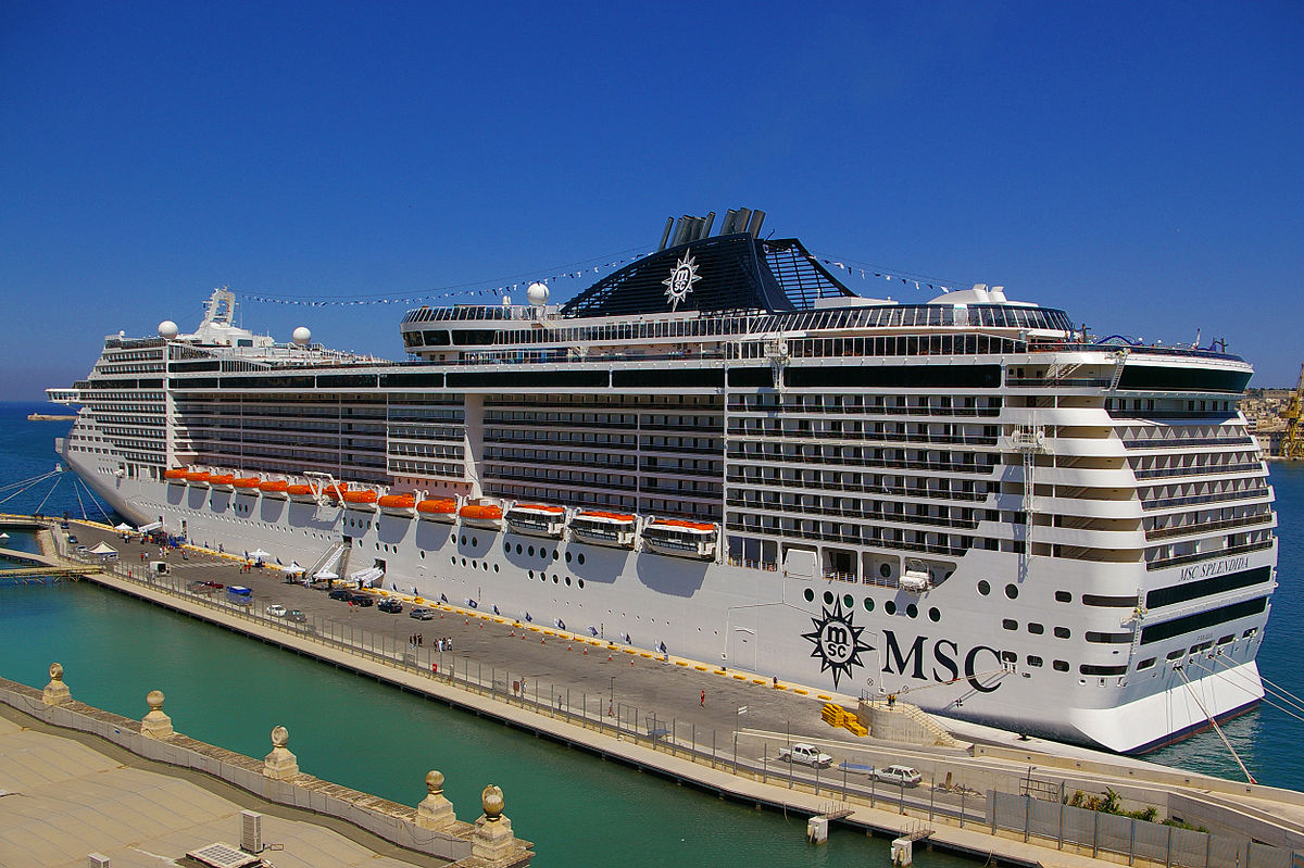 Cruises To Europe >> MSC Splendida (schip, 2009) - Wikipedia