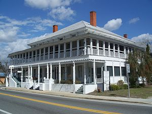 Old Lafayette County Courthouse - Image: Mayo FL old crths 01