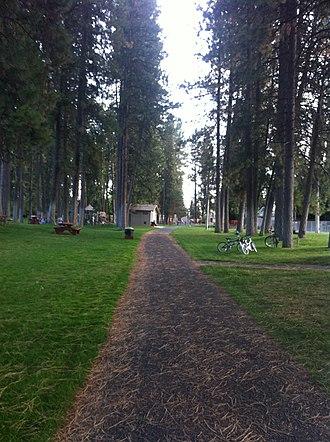 Medical Lake, Washington - Image: Medlak 2