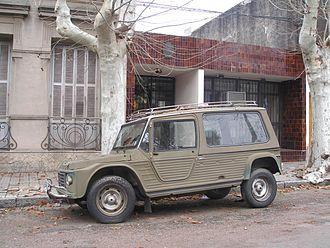 Citroën Méhari - Méhari Ranger, Uruguay