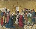 Meister des Marienlebens - Marienleben, Vermählung Mariens Rückseite, obere Hälfte einer Krönung Mariens - WAF 621 - Bavarian State Painting Collections.jpg