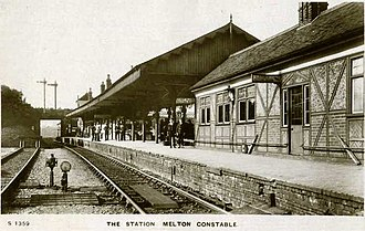 Melton Constable railway station - Image: Melton Constable Railway Station