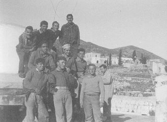 Meron, Israel - Members of Yiftach Brigade in Meron. 1948