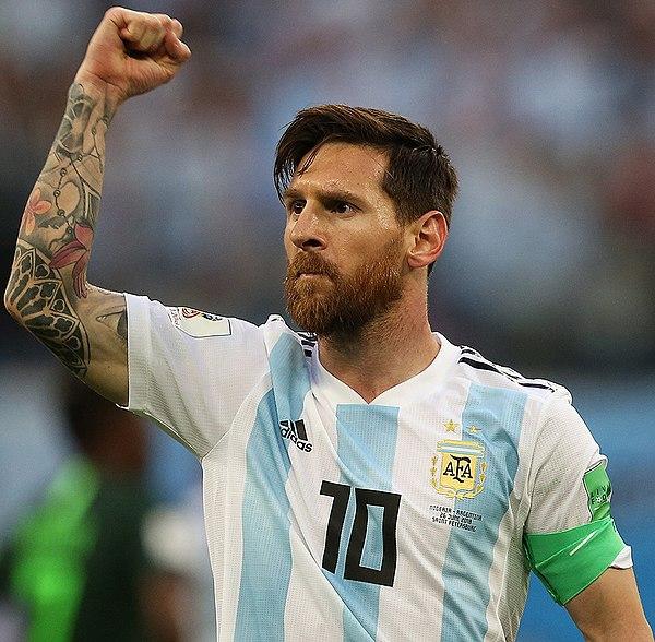 Photo Lionel Messi via Wikidata