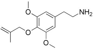 Methallylescaline - Image: Methallylescaline