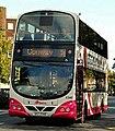 Metro (Belfast) bus 2340 (SEZ 2340) 2008 Volvo B9TL Wright Eclipse Gemini, 16 September 2009.jpg